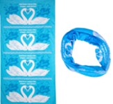 The Incredible Race: Blue Tubular Bandanas (pkg. of 10)