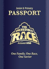 The Incredible Race: Junior and Primary Passport and Sticker Set, ESV (pkg. of 10)