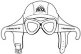 The Incredible Race: Aviator Goggles Cutout Craft (pkg. of 10)