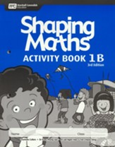 Shaping Maths Activity Book 1B (3rd  Edition)