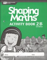 Shaping Maths Activity Book 2B (3rd  Edition)