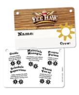 Yee-Haw: Name Badges (pkg. of 10)