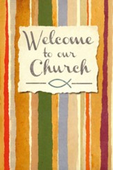 Welcome to our Church Folders (Numbers 6:25, NIV) Pack of 12