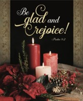 Be Glad and Rejoice! (Psalm 9:2) Large Bulletins, 100