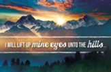 I Will Lift Up Mine Eyes (Psalm 121:1-2) Postcards, 25