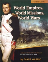 World Empires, World Missions, World Wars Teacher's Guide, Copyright Update
