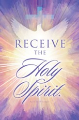 Receive the Holy Spirit (Acts 8:19, NRSV) Bulletins, 100