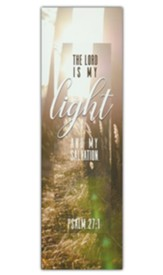 The Lord is My Light (Psalm 27:1, KJV) Bookmarks, 25