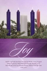 Joy (Luke 2:10-11, KJV) Bulletins, 100
