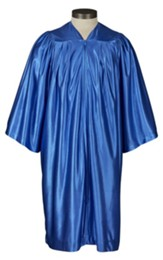 Gathered Choir Robe, Royal Blue, Medium