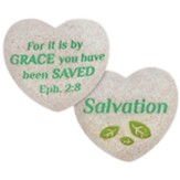 Salvation, Heart, Pocket Stone