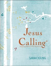 Jesus Calling, Large-Print Deluxe  Edition, Hardcover,