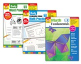 Evan-Moor Math Bundle, Grade 6
