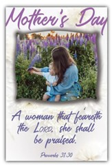 A Woman That Feareth the Lord (Proverbs 31:30, KJV) Bulletins, 100