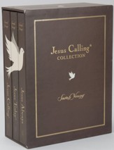 Jesus Calling Collection: Jesus Calling; Jesus Today,  Jesus Always - Slightly Imperfect