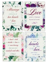 Language of Love (KJV) Wedding Cards, Box of 12