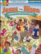 Jesus Has Risen! Hidden Pictures Activity Book (NIV)