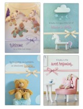 Sweet Blessings (KJV) Baby Congratulations Cards, Box of 12