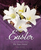 You Are Looking for Jesus.... He Has Risen! (Mark 16:6, NIV) Large Bulletins, 100