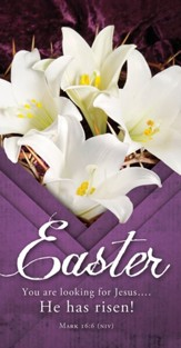 You Are Looking for Jesus.... He Has Risen! (Mark 16:6, NIV) Offering Envelopes, 100