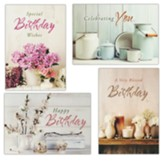 Farmhouse Blessings (KJV) Birthday Cards, Box of 12