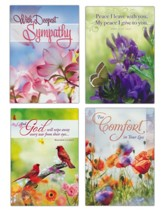 Comforting Condolences (NKJV) Sympathy Cards, Box of 12