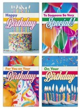 Make a Wish (NLT) Birthday Cards, Box of 12