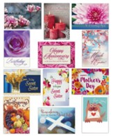 It's a Secret (KJV/NIV) All Occasion Cards, Box of 12