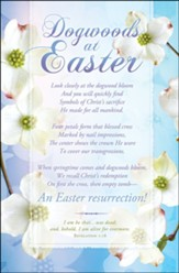 Dogwoods at Easter Poem (Revelation 1:18, KJV) Bulletins, 100
