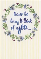 In My Thoughts (NIV) Thinking of You Cards, Box of 12