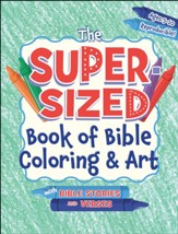 The Super-Sized Book of Bible Coloring & Art
