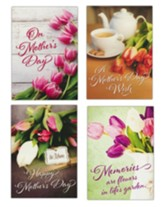 Celebrating Moms (KJV/NIV) Mother's Day Cards, Box of 12