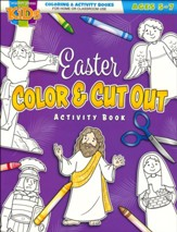 Easter Color and Cut Out Activity Book (KJV)