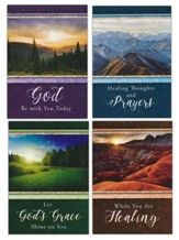 Glory and Majesty (KJV) Get Well Cards, Box of 12