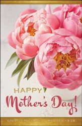 Happy Mother's Day! Great Is Thy Faith (Matthew 15:28, KJV)  Mother's Day Bulletins, 100