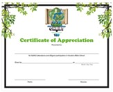 20/20 Vision: Certificate of Appreciation, (pkg. of 6)