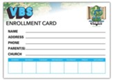 20/20 Vision: Enrollment Card (pkg. of 50)