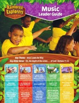 Rainforest Explorers: Music Leader Guide CD & DVD