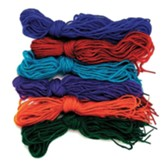 Rainforest Explorers: Tipped Yarn Laces