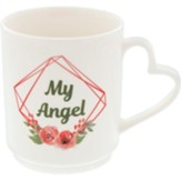 My Angel, Flowers, Mug