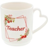 Teacher, Flowers, Mug