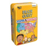 Brain Quest States Game Tin
