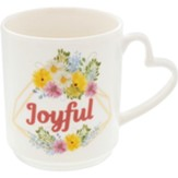 Joyful, Flowers, Mug