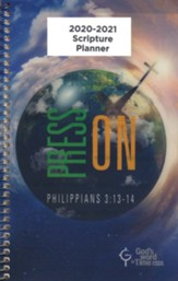God's Word in Time Scripture Planner: Press On! Philippians  3:13-14 Secondary Student Edition (KJV Version; Small;  August 2020 - July 2021)