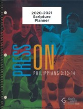 God's Word in Time Scripture Planner: Press On! Philippians  3:13-14 Elementary/Middle School Teacher Edition (KJV  Version; August 2020 - July 2021)