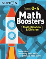 Math Boosters: Multiplication and  Division, Grades 2-4