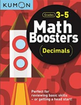 Math Boosters: Decimals, Grades 3-5