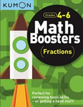Math Boosters: Fractions, Grades 4-6