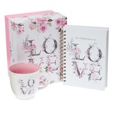 Love Journal and Mug Gift Box