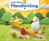 Zaner-Bloser Handwriting Grade K  Student Edition (2020 Copyright)